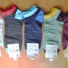S568 **พร้อมส่ง** (ปลีก+ส่ง) ถุงเท้าแฟชั่น ข้อตาตุ่ม คละ 5 สี เนื้อดี งานนำเข้า มี 10 คู่ต่อแพ็ค (Made in China)