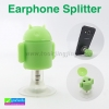 ที่แยกแจ็ค Earphone Splitter ตัวการ์ตูน Android ราคา 49 บาท ปกติ 160 บาท