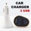 ที่ชาร์จในรถ REMAX 3 USB RM-C3U ราคา 179 บาท ปกติ 390 บาท