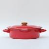 Vintage Enamel Pot-22cm.