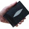 money clip มาดมั่นมังมี ด้วยกระเป๋าสตางคกระเป๋าสตางค์ปลากระเบน แบบ 1 มุข Line id : 0853457150