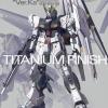 Nu Gundam Ver. KA Titanium Finish