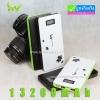 IWO P42 Power bank คุณภาพสูง 13200 mAh มีจอ LCD แถมซองผ้า ลดเหลือ 399 บาท ปกติ 1,400 บาท