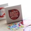 [S613] ชุดสติ๊กเกอร์ : Birthday series sticker