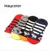 S498 **พร้อมส่ง** (ปลีก+ส่ง) ถุงเท้าข้อกุด ชาย แฟชั่นเกาหลี คละสี มี 12 คู่ต่อแพ็ค เนื้อดี งานนำเข้า(Made in China)