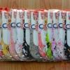U033**พร้อมส่ง** (ปลีก+ส่ง) ถุงเท้าเด็กหญิง วัย 3-5 ขวบ ใส่กับคัทชู ลวดลายสวย เนื้อดี งานนำเข้า ( Made in China)