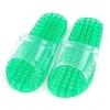 K012-GR**พร้อมส่ง** (ปลีก+ส่ง) รองเท้านวดสปา เพื่อสุขภาพ ปุ่มเล็ก (ใส) สีเขียว ส่งคู่ละ 80 บ.