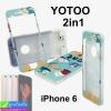 เคส iPhone 6 YOTOO 2in1 ลายสัตว์ ราคา 120 บาท ปกติ 300 บาท
