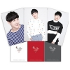 ZE:A SIWAN OFFICIAL GOODS แฟ้ม L HOLDER SET - THE FIRST FAN MEETING HELLO GOODS