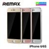 ฟิล์มกระจก iPhone 6/6s เต็มจอ Remax Metal + Steel Tempered Glass ราคา 160 บาท ปกติ 400 บาท ความแข็ง 9H