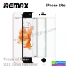 ฟิล์มกระจก iPhone 6/6s ขอบโค้ง 3D Remax ราคา 230 บาท ปกติ 600 บาท ความแข็ง 9H