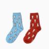 S459**พร้อมส่ง** (ปลีก+ส่ง) ถุงเท้าแฟชั่นเกาหลี ข้อยาว เนื้อดี งานนำเข้า(Made in china)