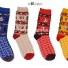 S375**พร้อมส่ง** (ปลีก+ส่ง) ถุงเท้าแฟชั่นเกาหลี ชาย ข้อยาว เนื้อดี งานนำเข้า(Made in china)