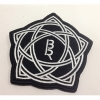 [ BOYS REPUBLIC OFFICIAL GOODS BOYS REPUBLIC LOGO BADGE BLACKNWHITE