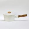 Vintage Enamel Pot-16cm.