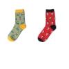 S462**พร้อมส่ง** (ปลีก+ส่ง) ถุงเท้าแฟชั่นเกาหลี ข้อยาว เนื้อดี งานนำเข้า(Made in china)