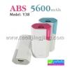 แบตสำรอง Power Bank ABS/ARUN 5600 mAh Model Y38 ลดเหลือ 169 บาท ปกติ 550 บาท