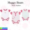 ชุด เด็กอ่อน Huggy Bears Happy elephant เซ็ท 3 ตัว ราคา 210 บาท ปกติ 630 บาท