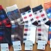 S479**พร้อมส่ง** (ปลีก+ส่ง) ถุงเท้าข้อยาวผู้ชาย แฟชั่นเกาหลี คละ 5 สี จำนวน 10 คู่ต่อแพ็ค เนื้อดี งานนำเข้า(Made in China)