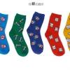 S372**พร้อมส่ง** (ปลีก+ส่ง) ถุงเท้าแฟชั่นเกาหลี ชาย ข้อยาว เนื้อดี งานนำเข้า(Made in china)