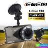 กล้องติดรถยนต์ E Car E Cam F28 2 กล้อง หน้า/หลัง ราคา 1,820 บาท ปกติ 4,550 บาท