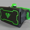 3D VR Glasses (Black Hard Case)
