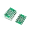 SSOP16 to SOP16 Double Sides DIP PCB Adapter Plate (0.65mm to 1.27mm)