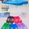 K021 **พร้อมส่ง** (ปลีก+ส่ง) รองเท้านวดสปา เพื่อสุขภาพ ปุ่มเล็ก(ใส)แบบนิ่ม มี 6 สี