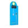 สายชาร์จ HOCO for android LED Touch Control Charging Cable UPM07 สีฟ้า