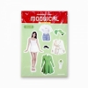 MAMAMOO MOOSICAL CONCERT GOODS : PAPER DOLL STICKER
