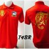 เสื้อโปโล ทีมชาติไทย ลายช้างศึกทรงเครื่อง สีแดง T4BR
