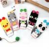 A011**พร้อมส่ง**(ปลีก+ส่ง) ถุงเท้าแฟชั่นเกาหลี โบว์สัตว์ มี 5 แบบ เนื้อดี งานนำเข้า( Made in Korea)