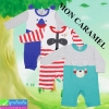 ชุดเด็กอ่อน MON CARAMEL หมีกับแร็กคูล เซ็ท 3 ตัว ราคา 335 บาท ปกติ 830 บาท