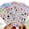 สติ๊กเกอร์ชุด : Choo Choo cat Bubble Sticker