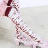 ถุงเท้าญี่ปุ่นน่ารักความยาวเหนือเข่า มี 2 สีขาวและดำ