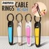 สายชาร์จ พวงกุญแจ Remax รุ่น RC-024 for iPhone 5/5s 6/6s ราคา 149 บาท ปกติ 390 บาท