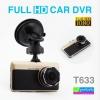 กล้องติดรถยนต์ T633 FULL HD CAR DVR ลดเหลือ 1,000 บาท ปกติ 2,500 บาท
