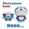 แบตสำรอง โดเรมอน ยิ้ม Power Bank Doraemon smile 8000 mAh ราคา 365 บาท ปกติ 890 บาท