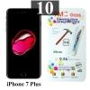 ฟิล์มกระจก iPhone 7 Plus 9MC แผ่นละ 31 บาท (แพ็ค 10)