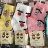 U040-13-1**พร้อมส่ง** (ปลีก+ส่ง) ถุงเท้าเด็ก หญิงวัย 2-3 ปีและ 3-5 ปี COCO & BU (ขนาด 14-16 และ 16-18 cm.) มีกันลื่น เนื้อดี งานนำเข้า ( Made in China)