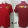 เสื้อโปโล ทีมชาติไทย ลาย Champions 2015 สีแดง TECR