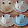 Y001-1**พร้อมส่ง** (ปลีก+ส่ง) หมวก สาน เด็ก ลายกบ แฟชั่นเกาหหลี งานนำเข้า(Made in China)