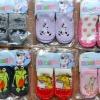 U026**พร้อมส่ง**(ปลีก+ส่ง) ถุงเท้าเด็ก วัยหัดเดิน -เด็กโต มี 4 ไซด์ พื้นหนังมีกันลื่น เย็บขอบอย่างดี เนื้อดี งานนำเข้า (Made in China)