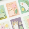 [C9] กระดาษโน๊ต Animal park strip cartoon sticky note