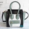 พร้อมส่ง DB-88458 สีเขียว กระเป๋านำเข้า Celine design หนังสวยงานเนี๊ยบ