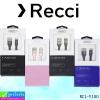 สายชาร์จ iPhone 5,6,7 Recci RCL-Y100 ราคา 120 บาท ปกติ 420 บาท