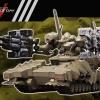 V.I. Series Armored Core V 1/72 Verdict Day MATSUKAZE mdl.2 Defense Outpost Type Plastic Model
