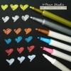 ปากกาสี-เมทาลิค (10 แท่ง)