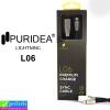 สายชาร์จ iPhone 5,6,7 PURIDEA L06 ราคา 130 บาท ปกติ 390 บาท
