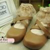 [พิเศษ 2 คู่ 150 ] ถุงเท้าขอบลูกไม้สไตล์วินเทจ มี 10 สี